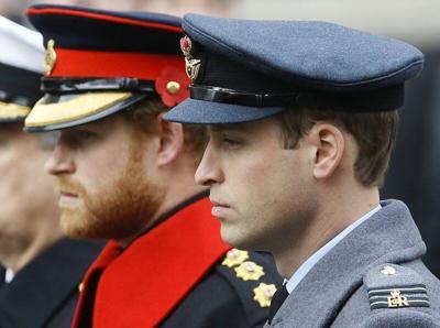 Princes Harry, William