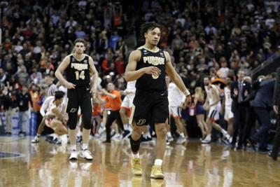 NCAA Purdue Virginia Basketball