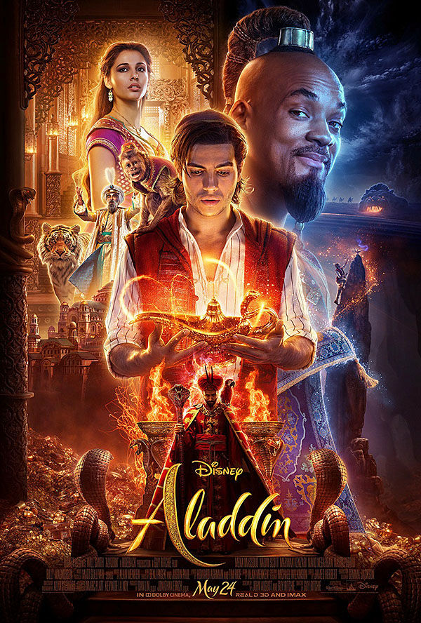 """Aladdin"" movie poster"