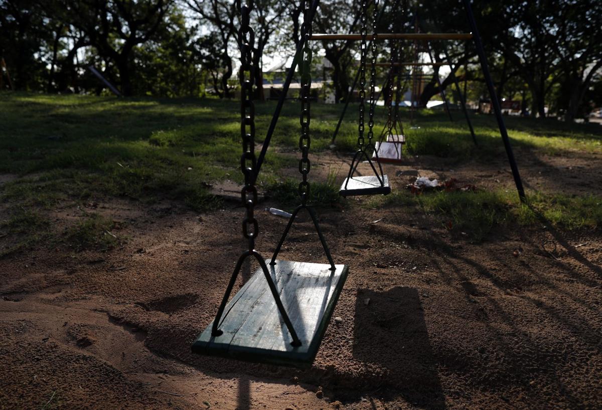 Virus Outbreak Empty Playgrounds Photo Gallery