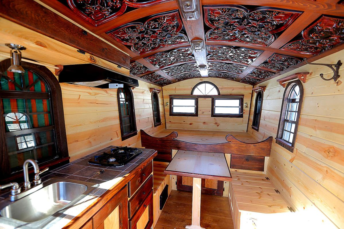 A miniature mansion Russiavilles Auth a forerunner of tiny house