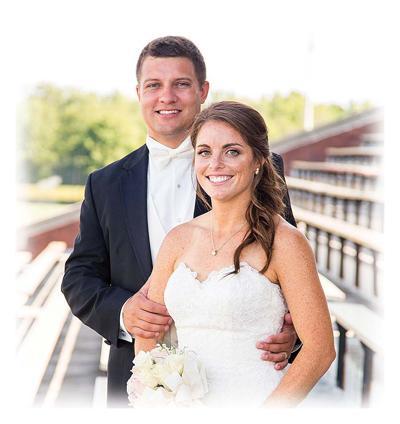 Megan Daw and Clayton Mannering