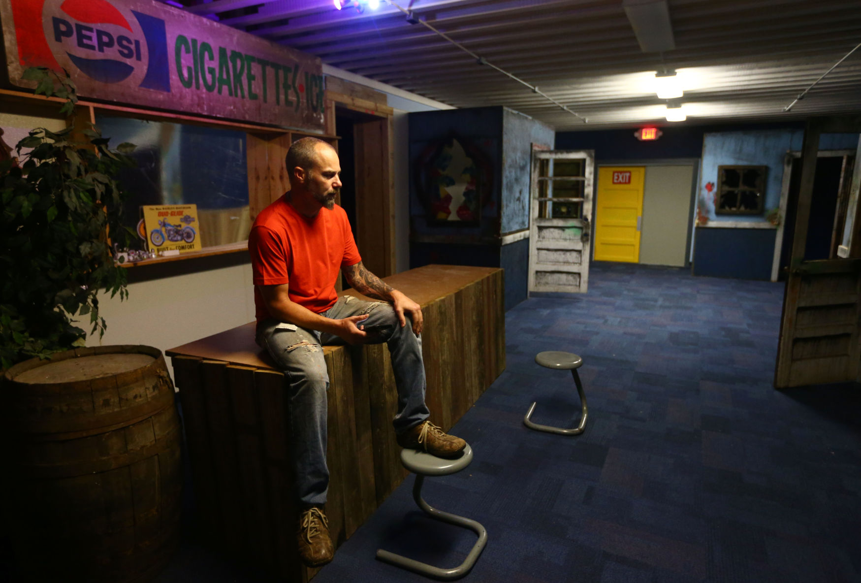 The ZONE Tactical Laser Tag Owner Ronnie Catron Talks About His New  Business At 111 Southway Boulevard On July 19, 2018. Kelly Lafferty Gerber  | Kokomo ...