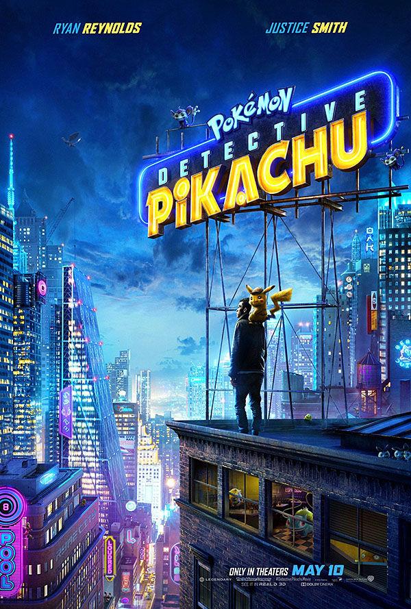 """""""Pokémon: Detective Pikachu"""" movie poster"""