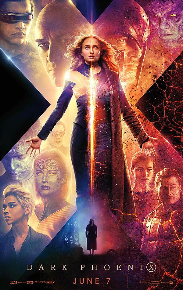 """""""Dark Phoenix"""" movie poster"""