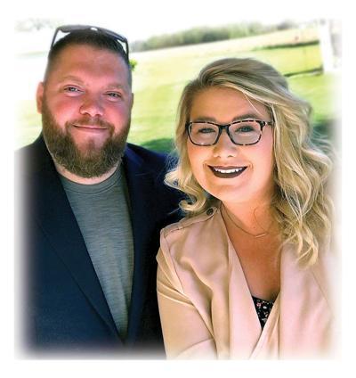 Stephanie Harrell and Corey Haus