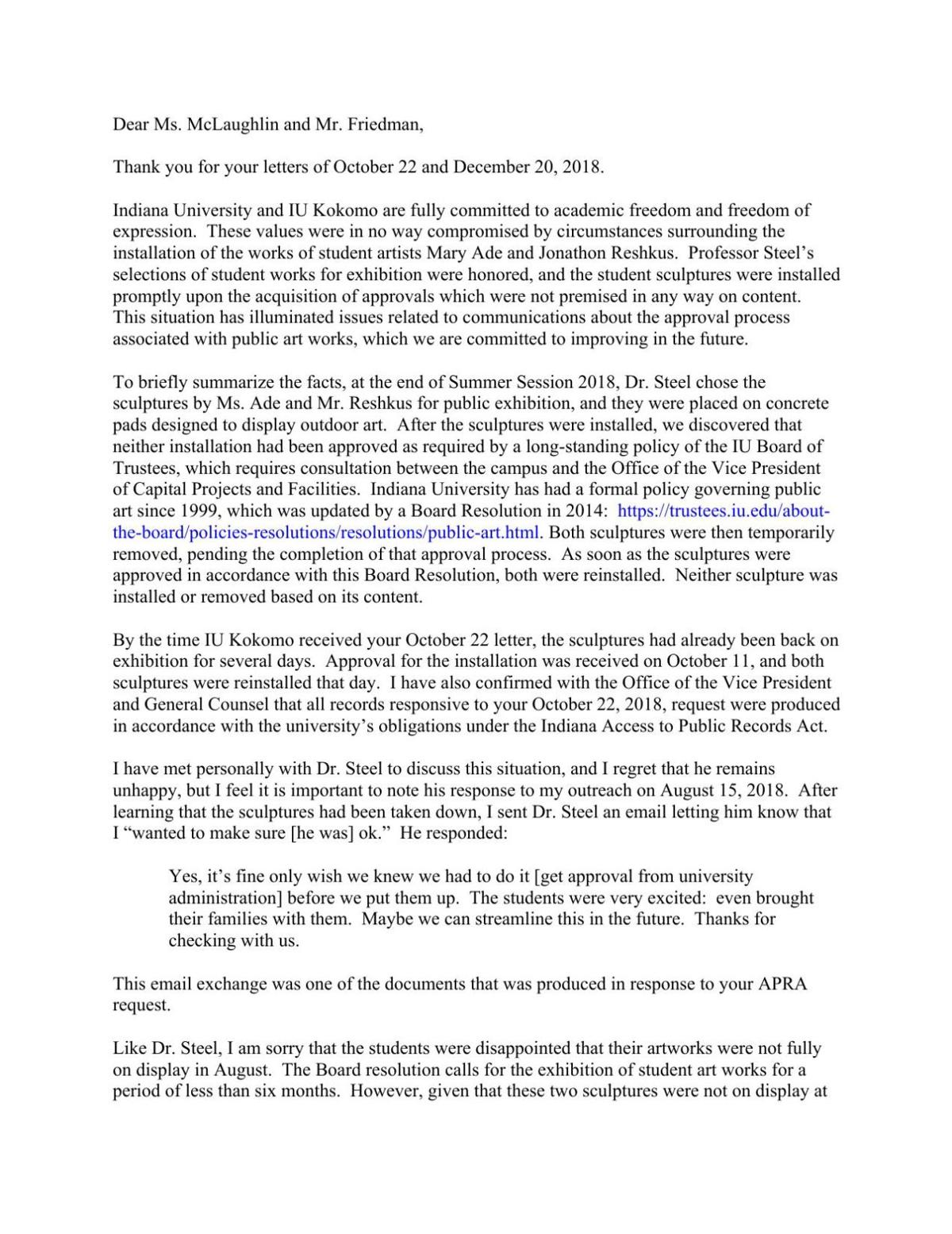 IUK letter to FIRE and PEN America