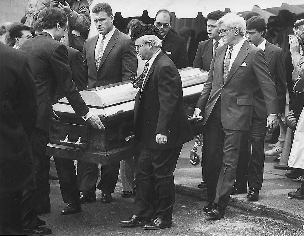 White funeral