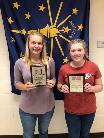 Northwestern students of the month for Oct.