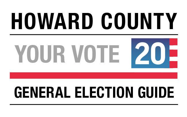 Howard County vote guide logo 2020