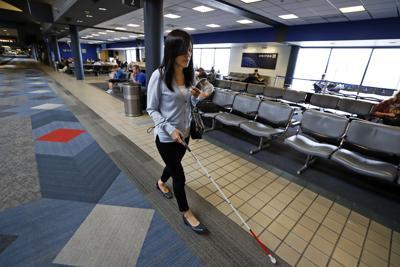 Blind at Airport Wayfinding App