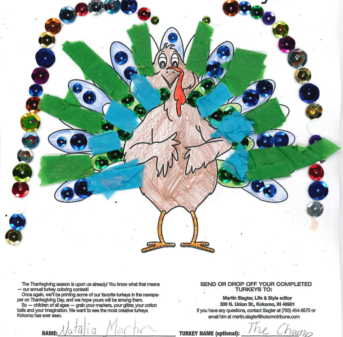 Time for Turkey entries M-Q (By first name) | | kokomotribune.com