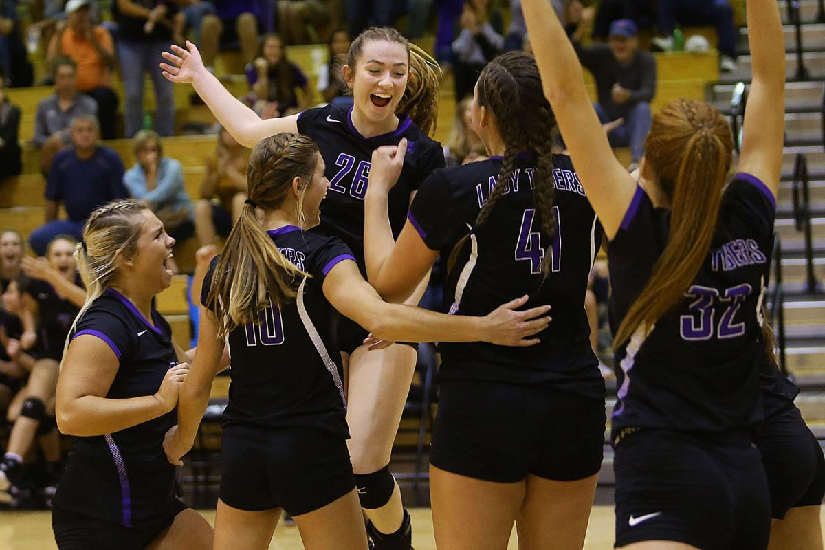 VOLLEY: Tigers dig deep for sectional title | Sports ...