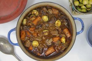 Rich and heavy French beef stew actually made healthier