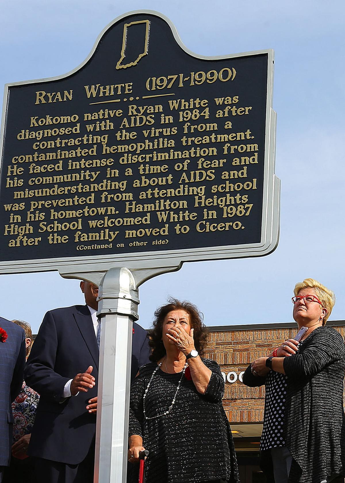 Ryan White Historical Marker 06.jpg
