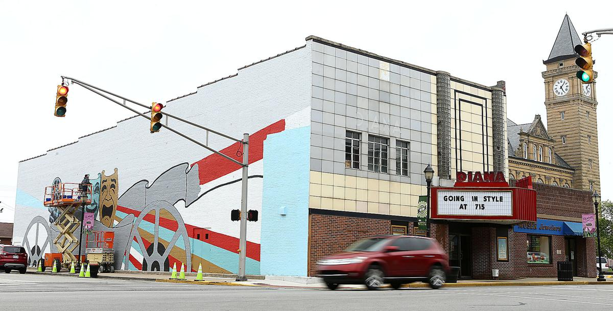 Diana theatre mural project draws inspiration from city for City mural projects