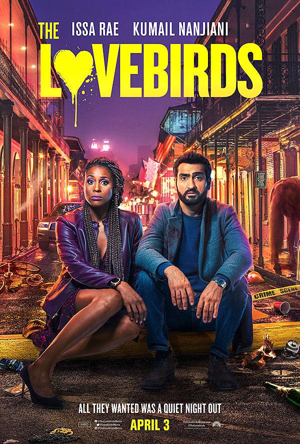 """Lovebirds"" movie poster"