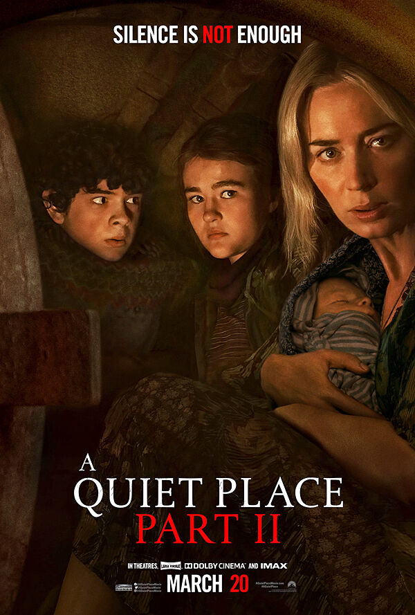 """""""A Quiet Place Part II"""" movie poster"""