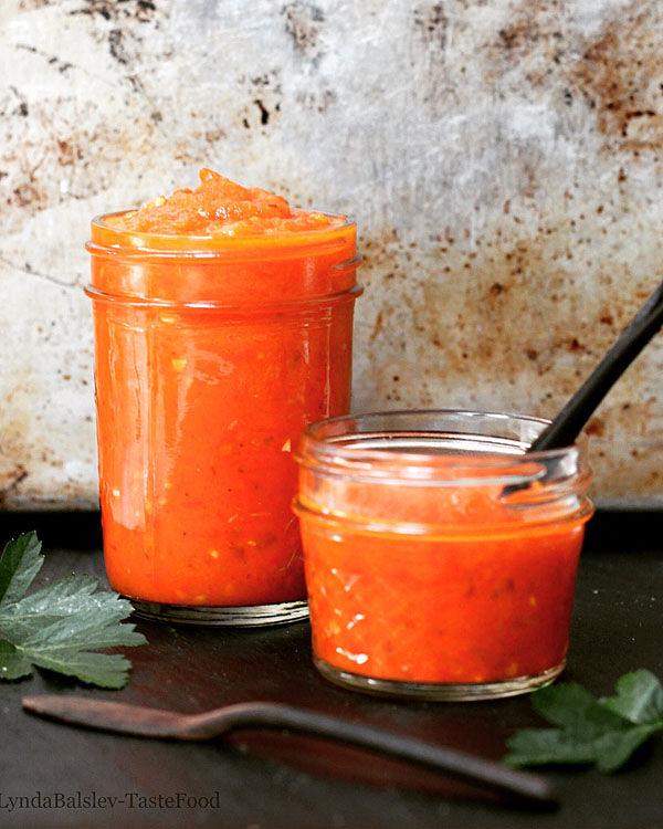 Roasted Tomato Pepper Sauce