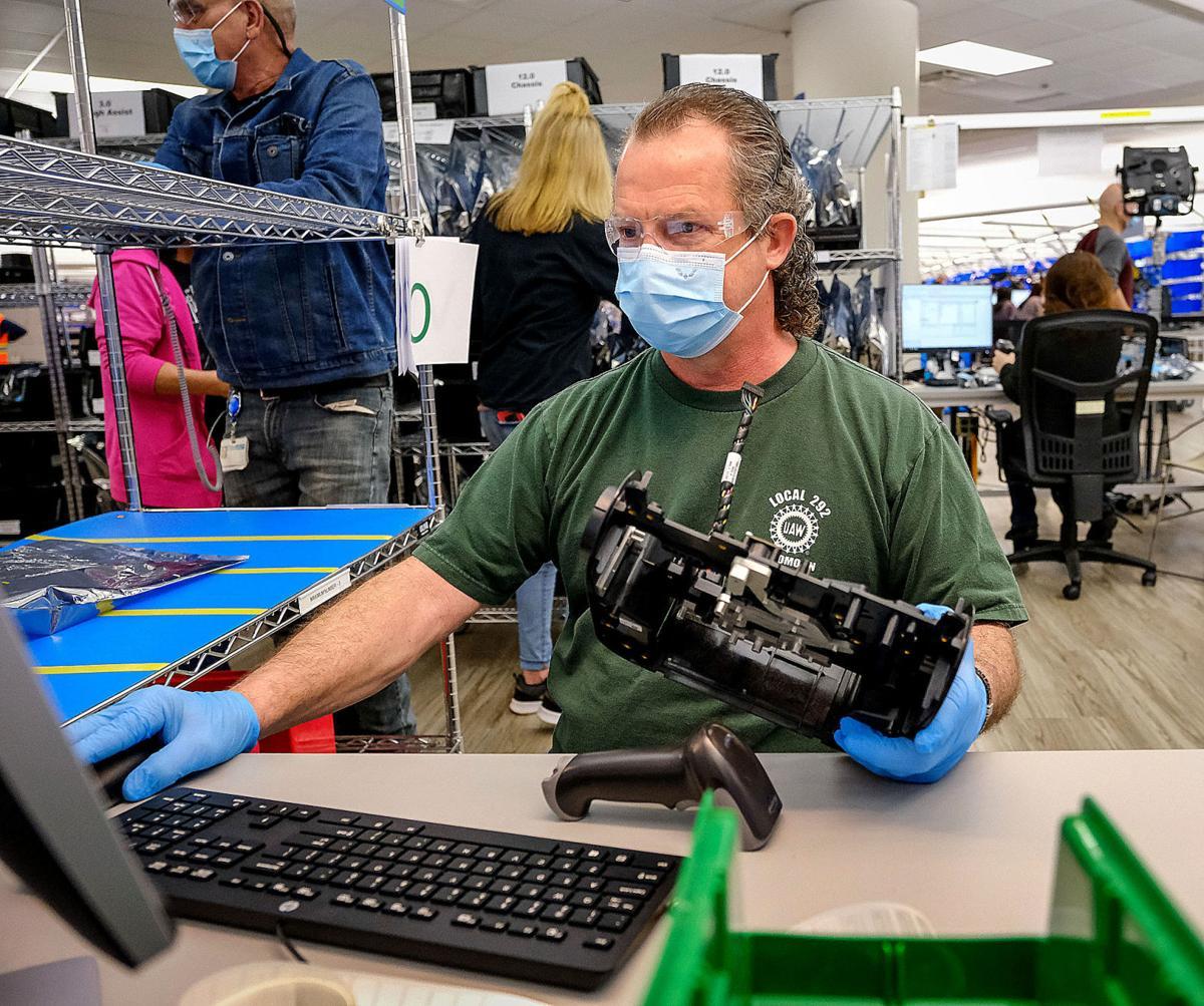 GM Kokomo Operations Building Ventec Life Systems Ventilators