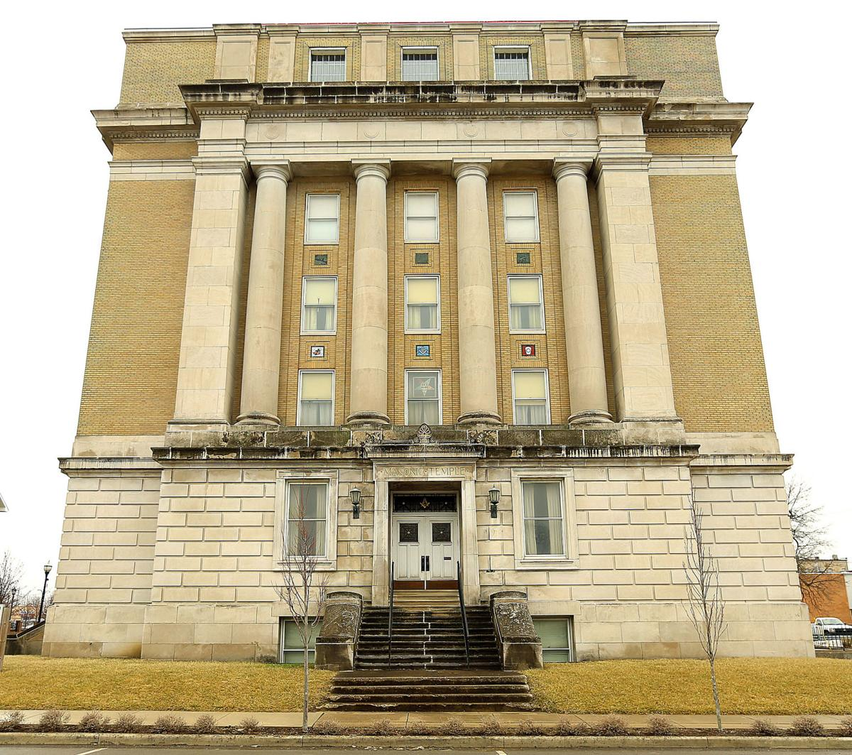 The historic Howard Masonic Temple: Iconic downtown building