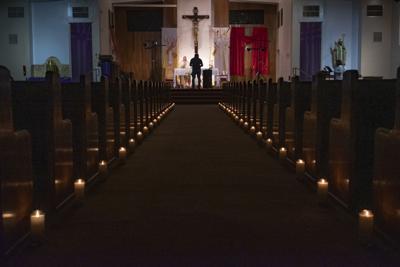 Virus Outbreak Church Closures