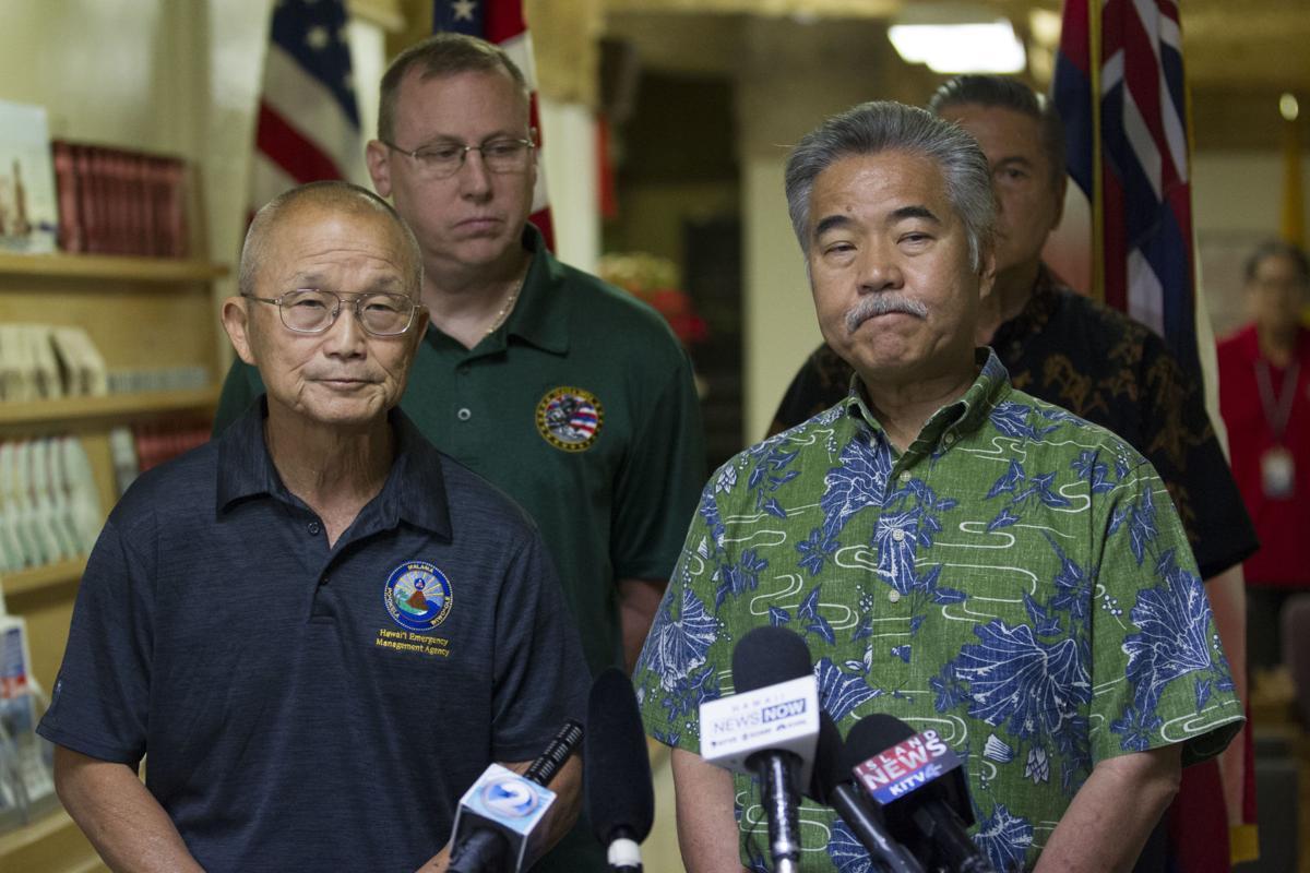 A wave of panic rattles hawaii after false missile alert nation hawaii mistaken missile alert xflitez Gallery