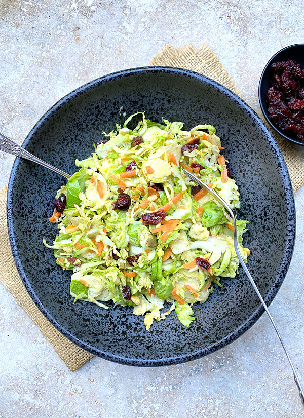 Brussels Sprouts Slaw
