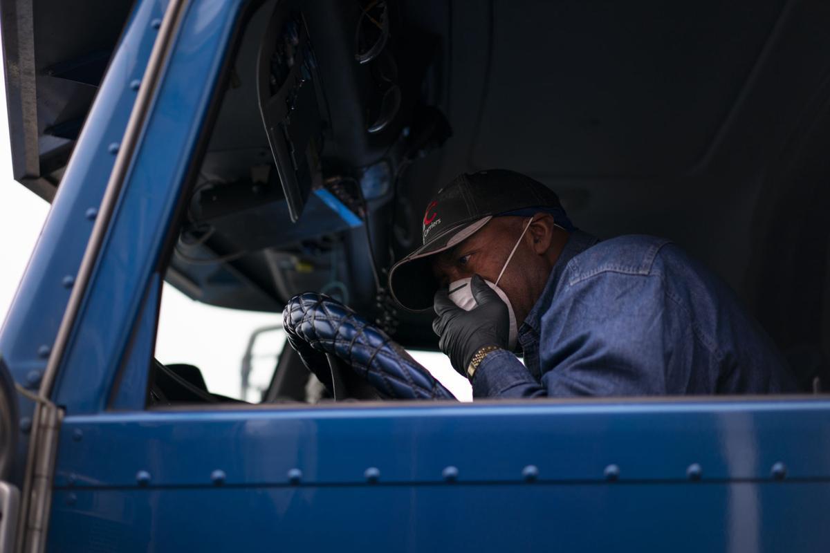 Virus Outbreak Trucker Cowboy Photo Gallery