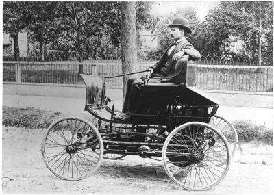 Elwood Haynes and his Pioneer