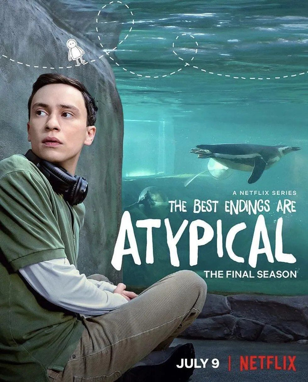 """""""Atypical"""" season 4 poster"""