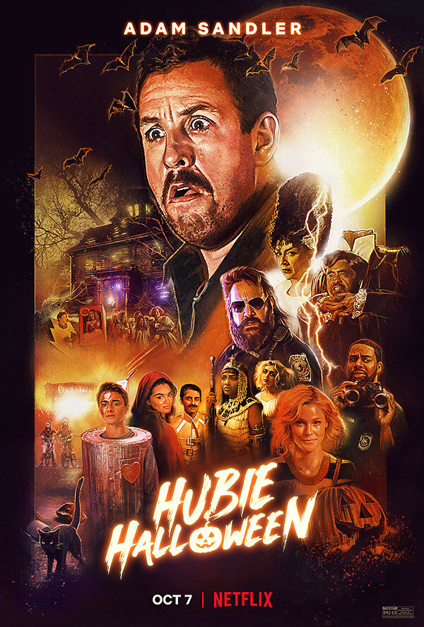 """Hubie Halloween"" movie poster"