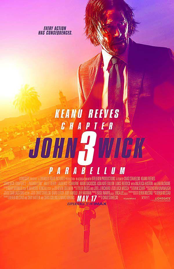 """John Wick: Chapter 3 - Parabellum"" movie poster"