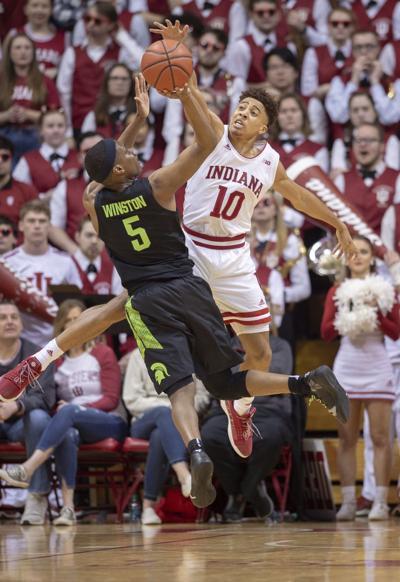 APTOPIX Michigan St Indiana Basketball
