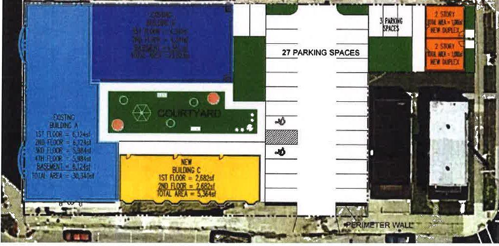 Former YMCA rendering