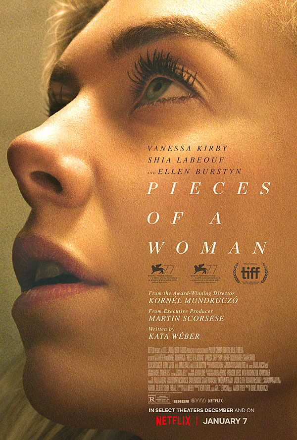 """Pieces of a Woman"" movie poster"