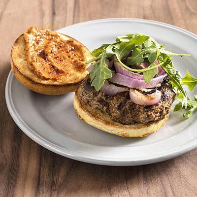 Food Column ATK Grilled Harissa Lamb Burgers