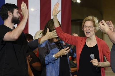 Elizabeth Warren in elkhart