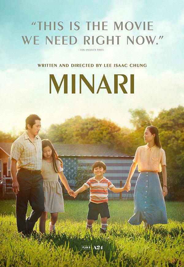 """Minari"" movie poster"