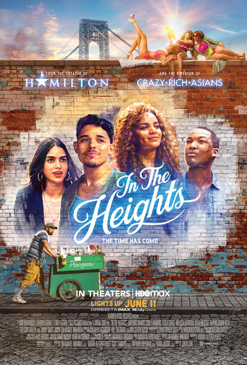 """""""In the Heights"""" movie poster"""