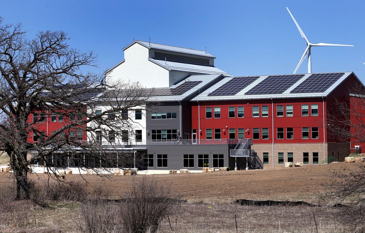 Organic Valley's new Cashton office building