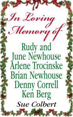In loving memory ...