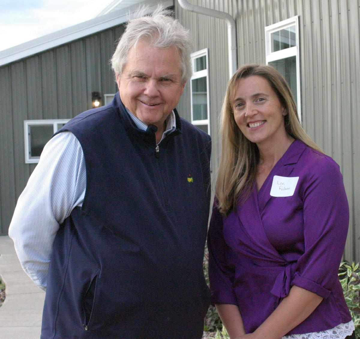Tom Thibodeau and Lori Pedretti