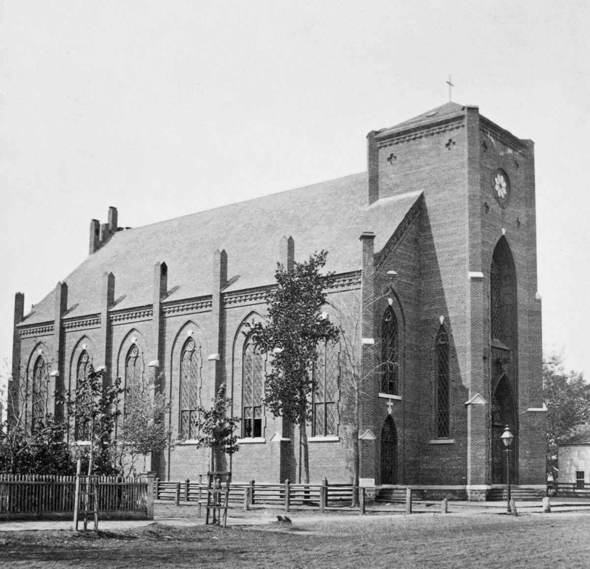 The Way it Was: St. Joseph's Cathedral in 1880
