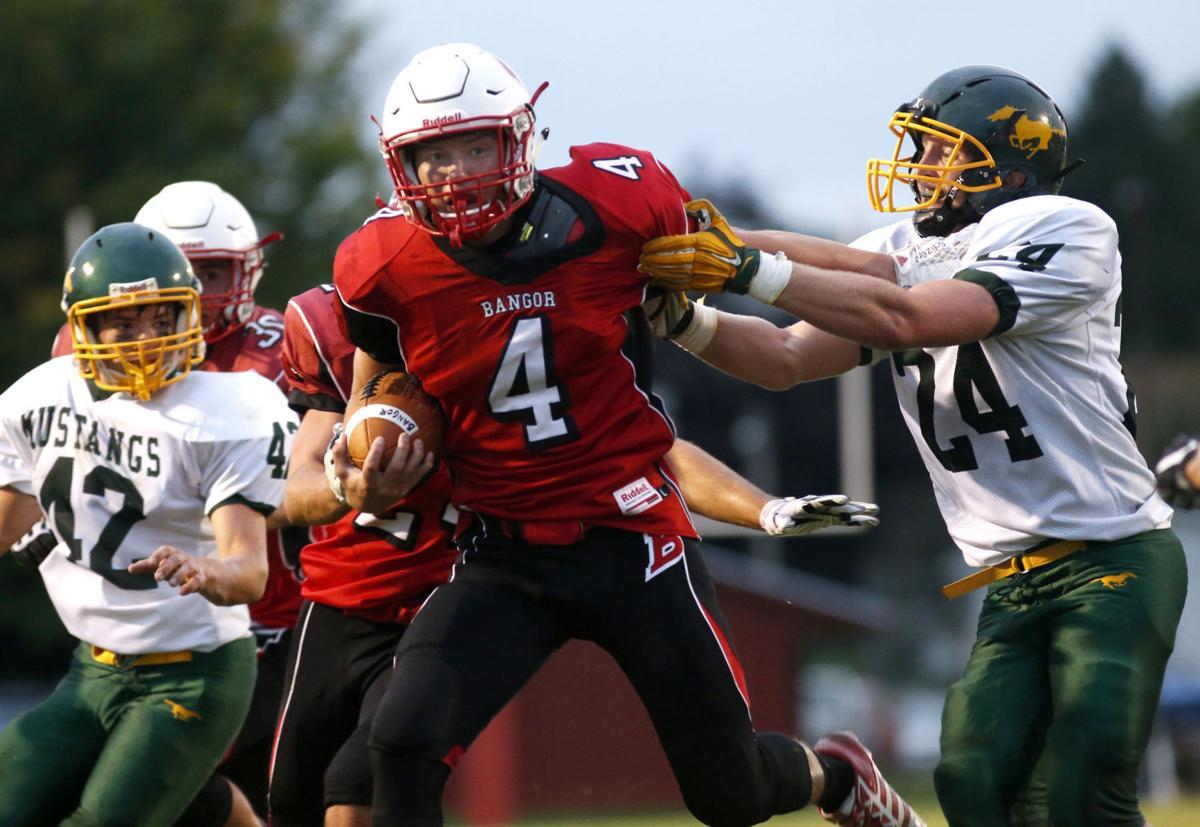 High school football: Bangor High School's Drew Johnson a model of efficiency at QB