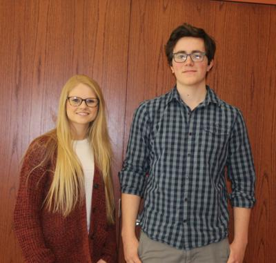 Viroqua Area Rotary Club Seniors of the Month for February