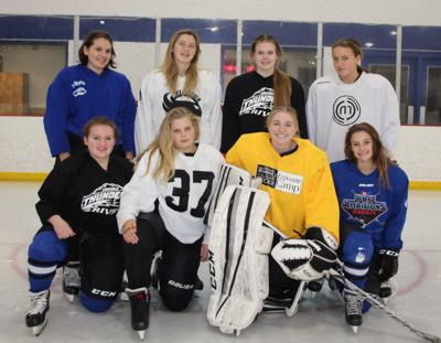 Viroqua cooperative girls hockey team 2018