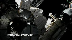 US and Japanese astronauts begin spacewalk