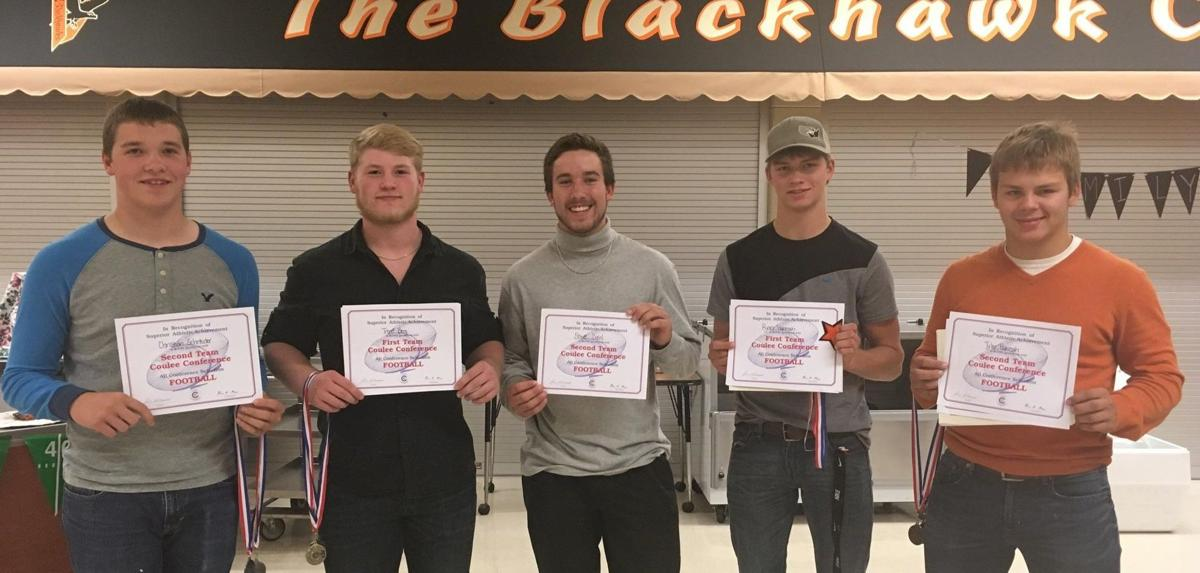 Football All-Coulee Conference team members