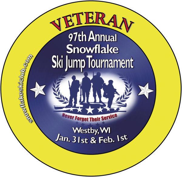 2020 Snowflake Veterans Button